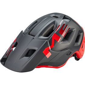 MET Roam MIPS Fietshelm, matt black/red